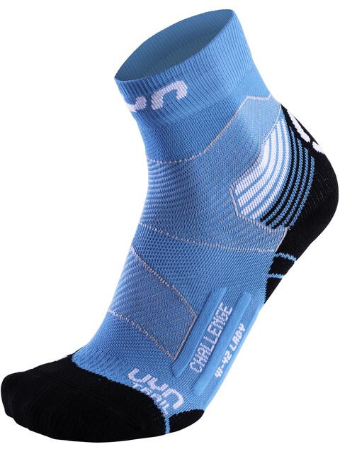 UYN Run Trail Challenge Socks Women Turquoise/White